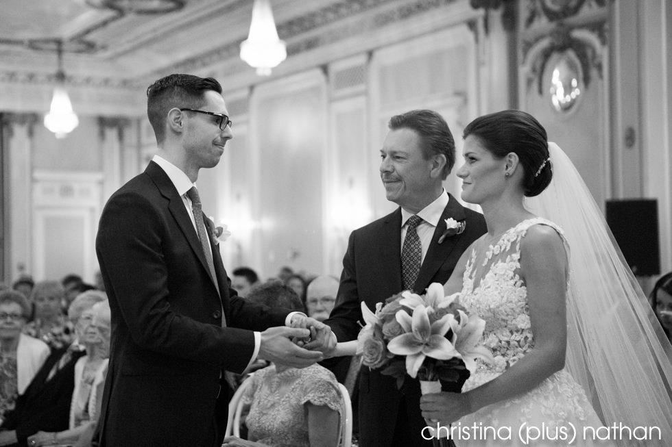 Wedding Ceremonies at the Fairmont Palliser Hotel