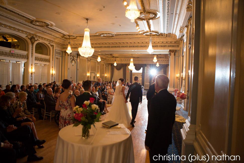Crystal Ballroom Ceremony