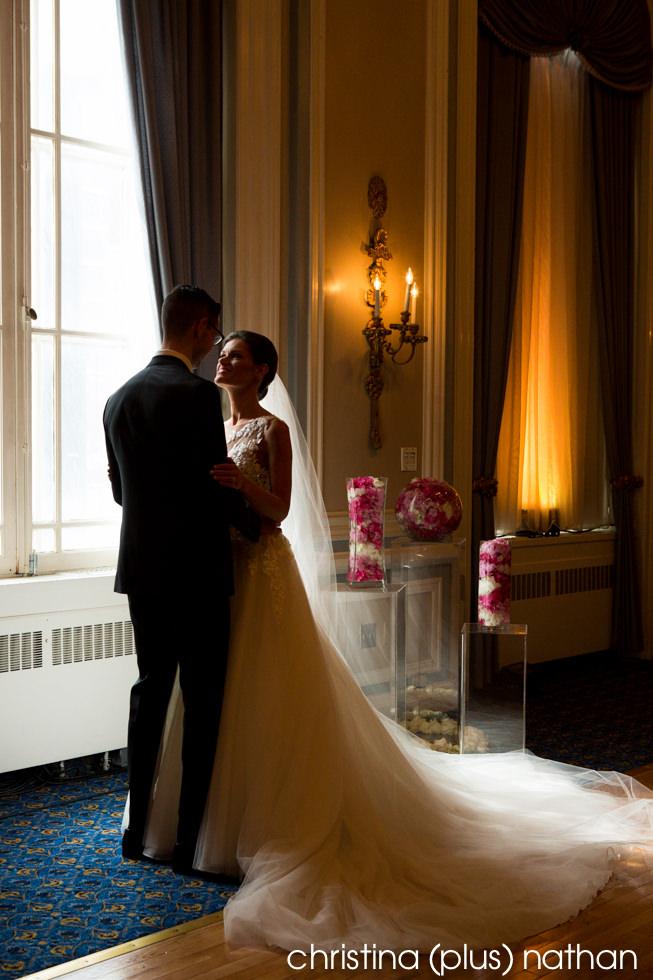 Palliser photo wedding Crystal Ballroom