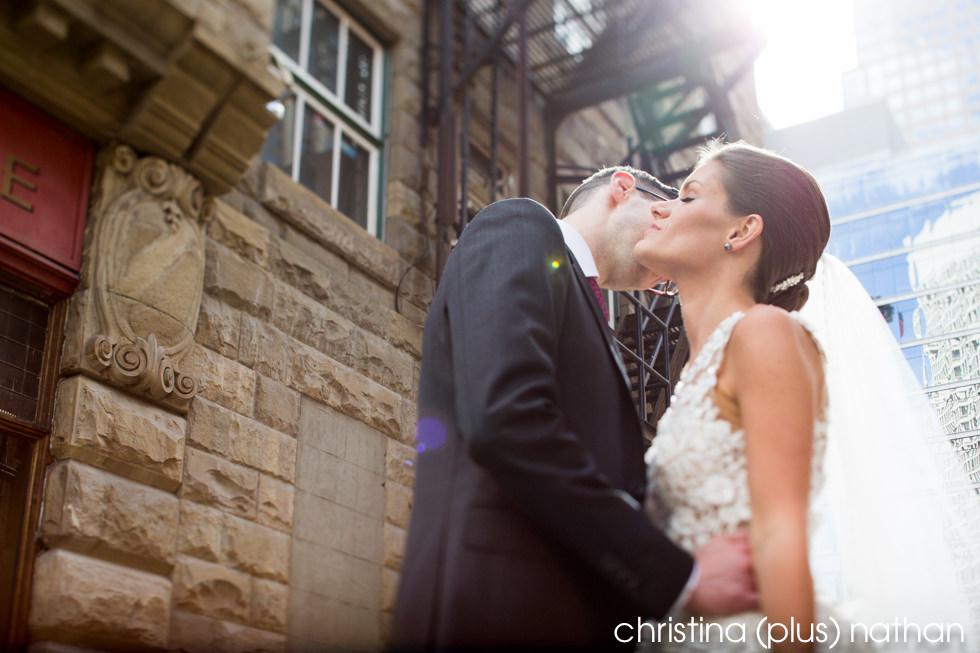 Calgary wedding portrait
