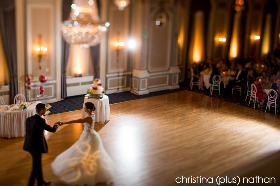Fairmont Palliser Wedding Crystal Ballroom
