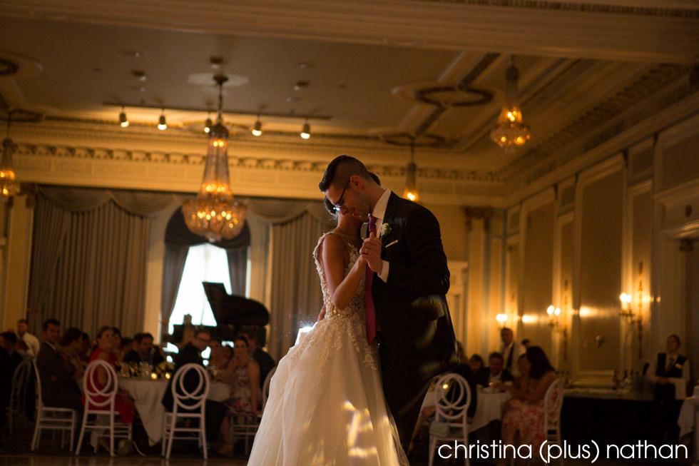 First Dance Calgary Fairmont Palliser Wedding