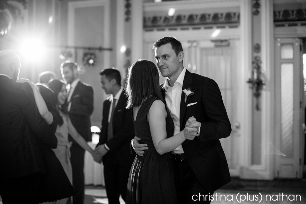 Wedding reception photography dance photo
