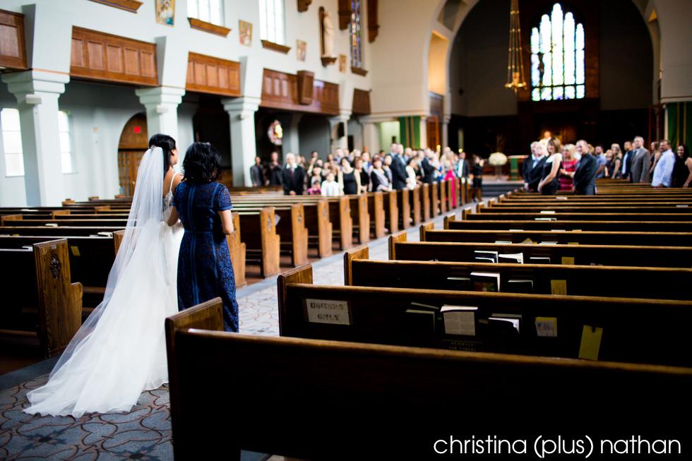 St. Mary's Church Calgary weddings