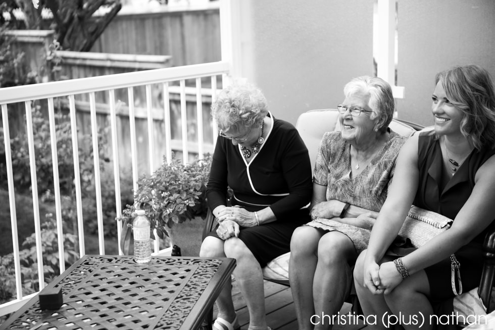 Grandma is excited about backyard wedding in Calgary