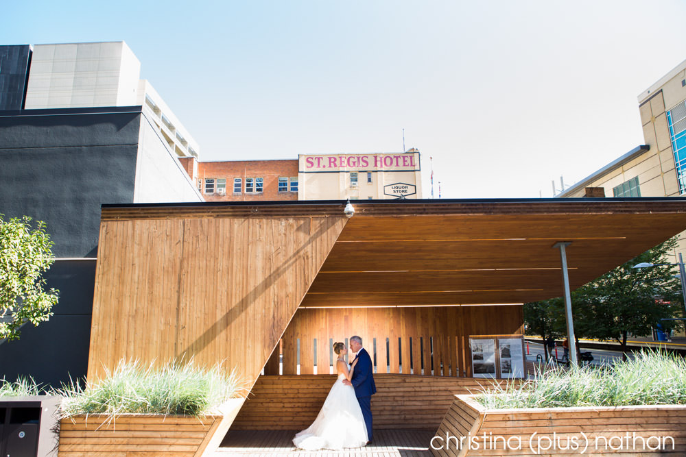 Wedding photo taken by the St. Regis Hotel in Calgary buy christina (plus) nathan