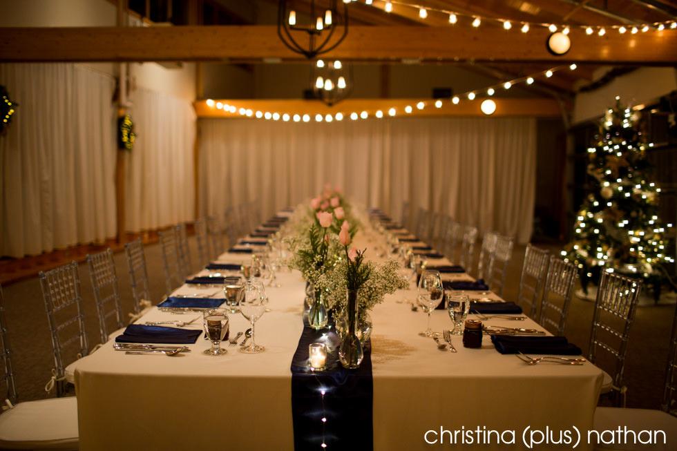Azuridge wedding reception