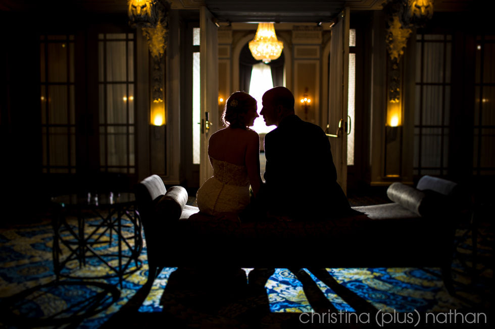 Fairmont Palliser wedding photos