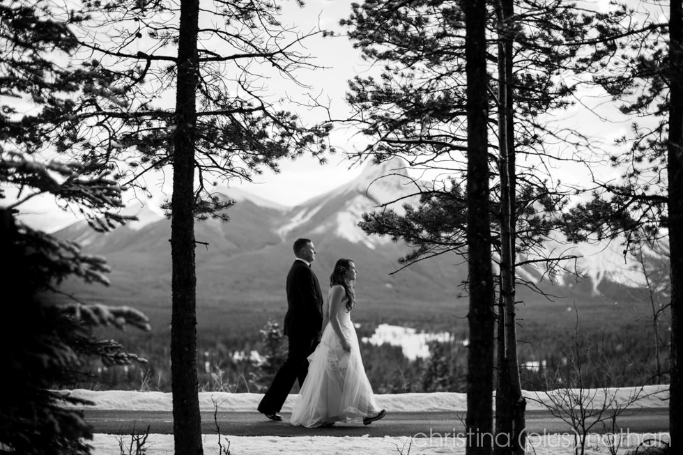 Kananaskis Delta Wedding
