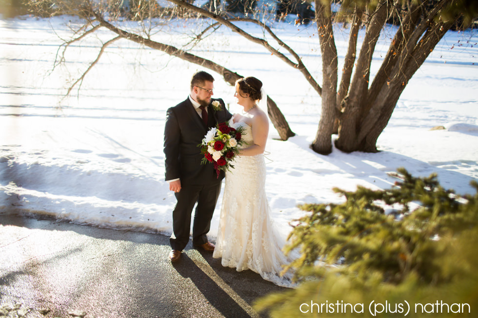 The Lake House Winter Wedding Photography