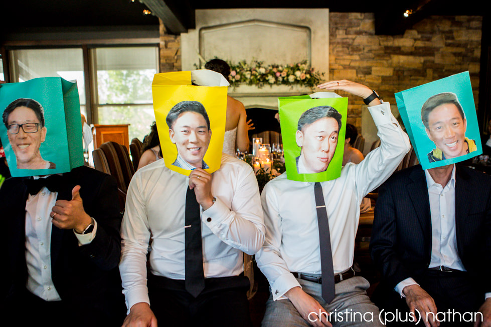 Wedding party games at The Lake House Restaurant
