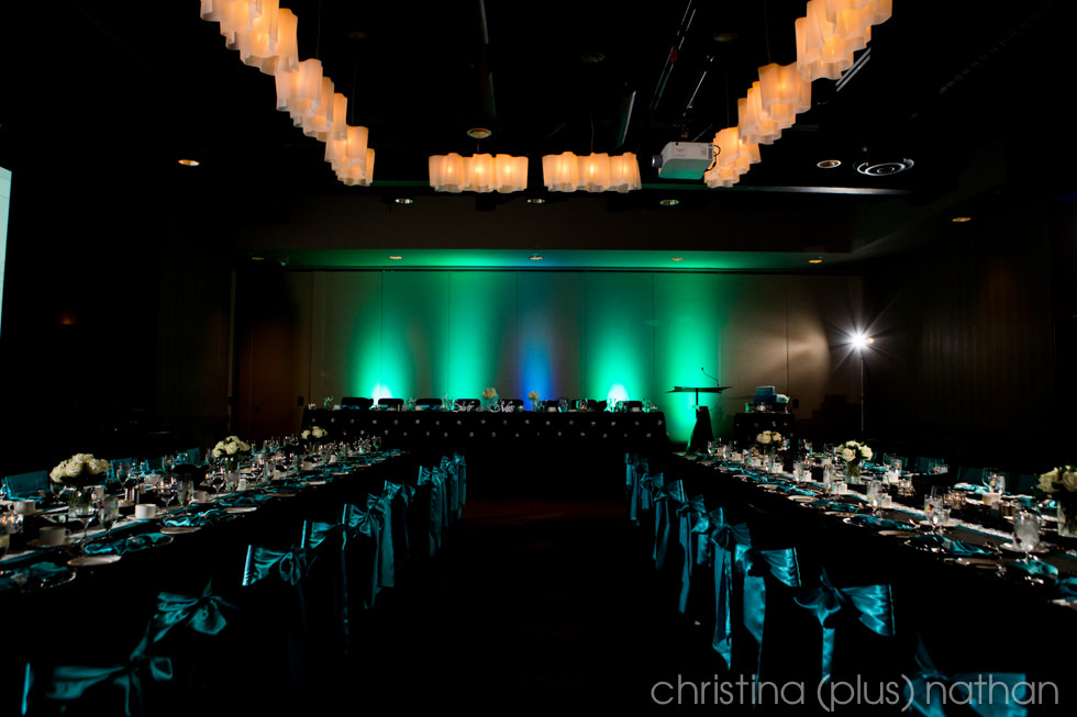 Calgary wedding venue Hotel Arts decor